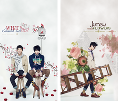 JYJ over flowers by RoOZze