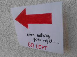 When nothing goes right... by MellWerr