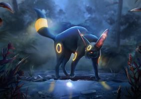 Umbreon by Cyrilou15