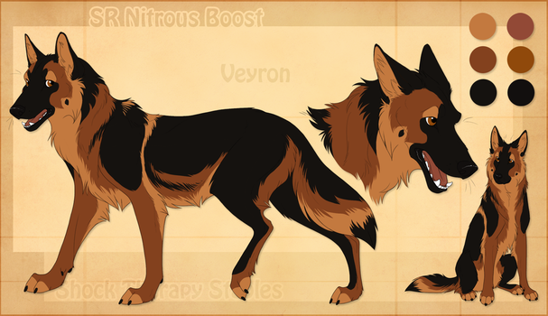 STS Dog - Veyron by ShockTherapyStables
