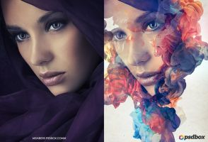 Ink Portrait Effect (Tutorial) by Andrei-Oprinca