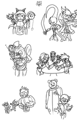 Sketch Dump Nov 9 by Thesimpleartist4