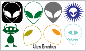 +Alien Brushes+ by Nay-Hime