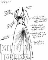 A Dress A Day 12 March 15 by AshenArtifice