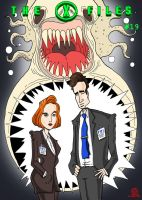X-files 19 -Cover homage by Eastforth