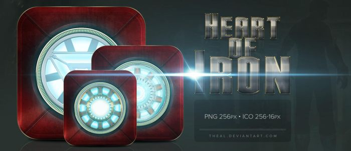 Heart of Iron Dock Icons by TheAL