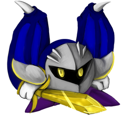 The only good meta knight ive finished by wolfanite