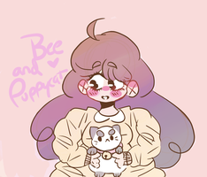 Bee and Puppycat by lil-beann