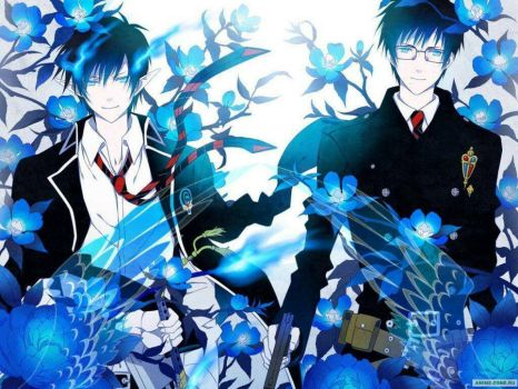 blue exorcist by Selsword