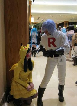 Ive got you now Pikachu by Vearra