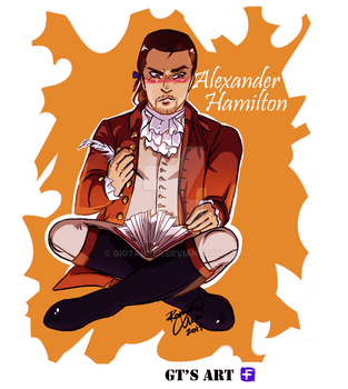 My name is... ALEXANDER HAMILTON by GioTanner