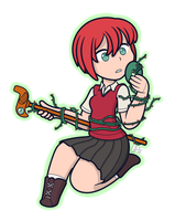 Ancient Magus Bride - Chise by CanadianBlue