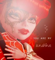 You are my sunshine by marjol3in1977