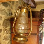 brass lantern by bluemacgirl