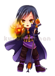 -- Chibi magician commission for Guardian BR -- by Kurama-chan