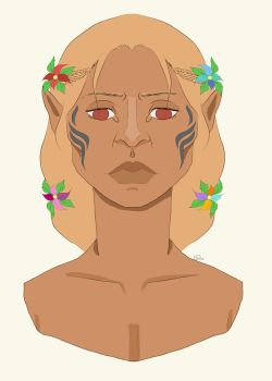 Zevran The Flower Boi (Redone) by UndecidedPoser