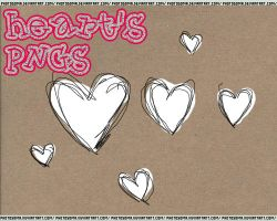 Heart's PNGs by photosoma