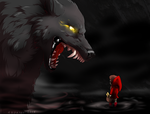 Big Bad Wolf by AzorART