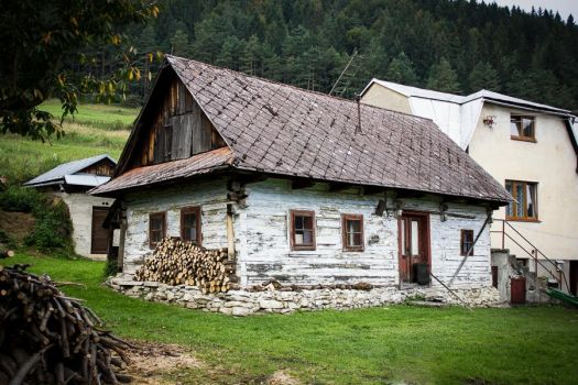 Old cottage by sstando
