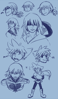 riku warmups by Nikutsune