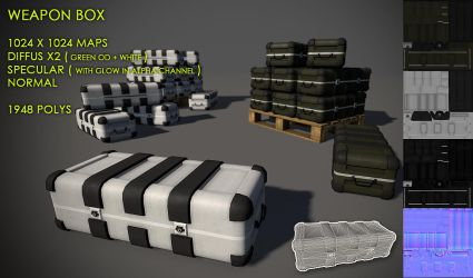 Free Weapon Box Pack by Yughues