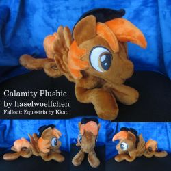 Calamity Plushie (Fallout: Equestria) by haselwoelfchen