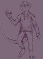 wip fullbody ych commission by RICODAVEY