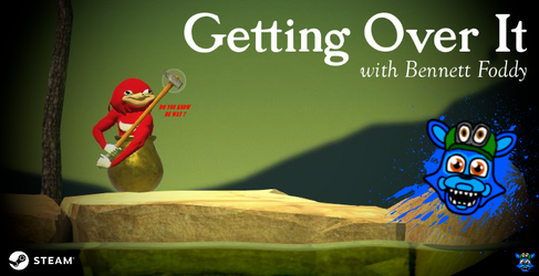 Getting Over It - (Unlocked Golden Pot) by TommyFnaf