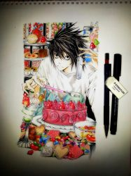 #4 L(death note) by Mitsoro