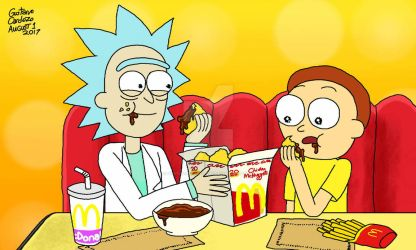 It's the Szechuan Sause, Morty! by GustavoCardozo97