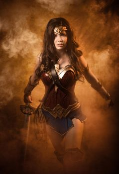 Wonder Woman / Justice League - Charge! (Cosplay) by TineMarieRiis