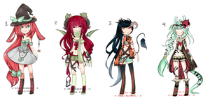 SaygoAngel Collab Adopt Set Auction {CLOSED} by chuguri