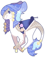 adopt 22: CLOSED : water mage's steed by remii-q