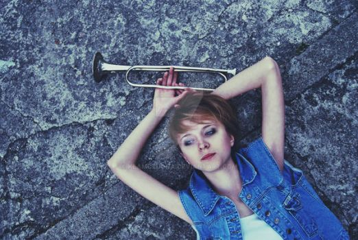 this trumpet in my head by klamczucha