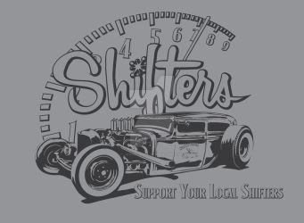 Shifters Car Club Supporter design by joshellis04