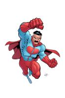 Invincible handbook Omni-man by RyanOttley