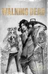 usagi and daryl -TWD the living dead by zelldinchit