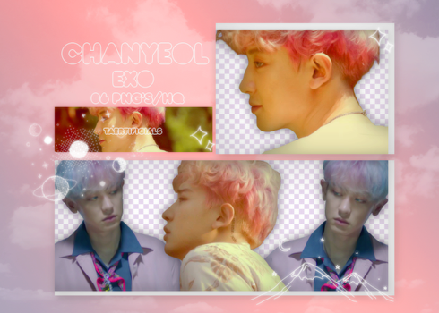 Chanyeol (EXO) | PNG PACK #31 | Kokobop M/V by taertificials
