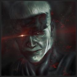 Solid Snake (Old Snake from MGS 4) by marblegallery7