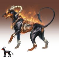 Realistic Pokemon: Houndoom