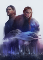 Taking back Winterfell by SandraWinther