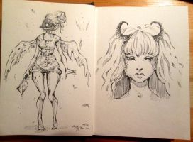 Sketchbook: 17.02 by Doringota