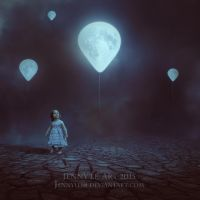 Moon Balloon by JennyLe88