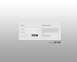 Login Box Design by Mottcalem