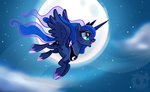 Princess Luna Print MW by Wicklesmack