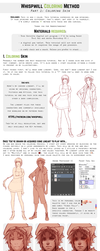 Coloring Tutorial Part 1 by whispwill