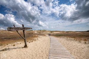 Courland Spit - baltic sea by jkoziol