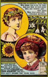 Victorian Advertising - Fading Lily's Headache by Yesterdays-Paper