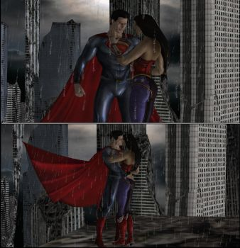 Kal and Diana by Gizmochillin
