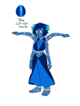 Gem Fusion - Blue Cat's Eye Quartz by JoTehDemonicPickle